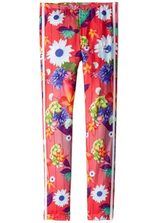 Adidas Floral Graphic All Over Print Leggings (Little Kids/Big Kids)