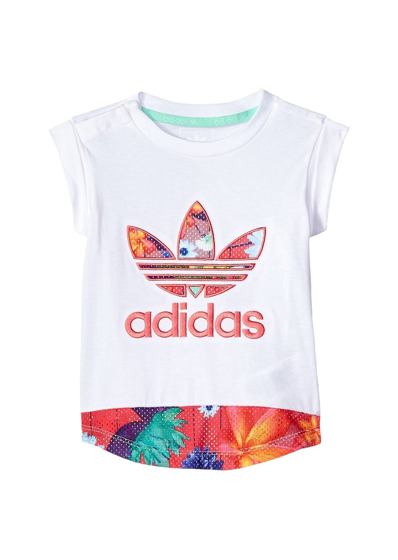 Adidas Floral Graphic Tee (Infant/Toddler)