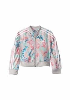 Adidas Flower Crop Superstar Jacket (Little Kids/Big Kids)