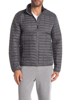 Adidas Flyloft Solid Quilted Zip Front Jacket