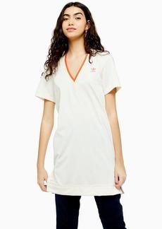 Football Style T Shirt Dress By Adidas