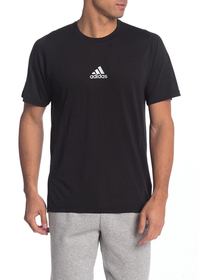 Adidas FreeLift 3 Stripe Life T-Shirt