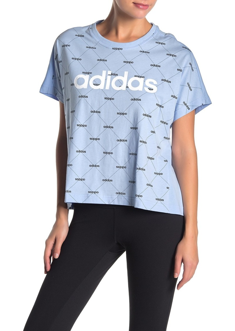 Adidas Front Graphic Short Sleeve T-Shirt