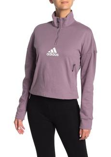 Adidas Funnel Neck Logo Sweater