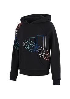 Adidas Girl's Fleece Pullover Hoodie