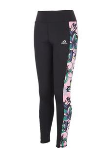 Adidas Girl's Printed Panel Leggings