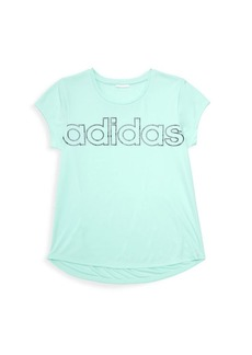 Adidas Girl's Scoopneck T-Shirt