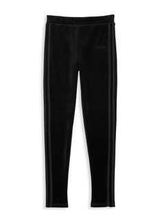 Adidas Girl's Velour Jogging Pants