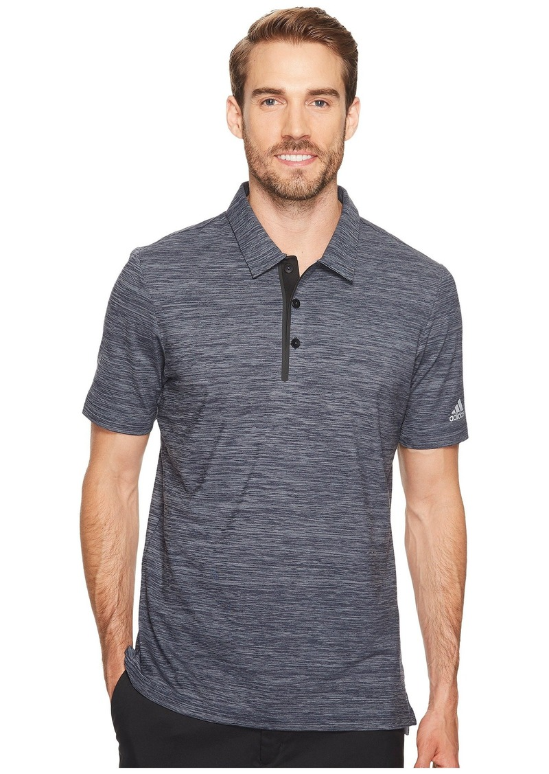 Adidas Gradient Heather Jersey Polo