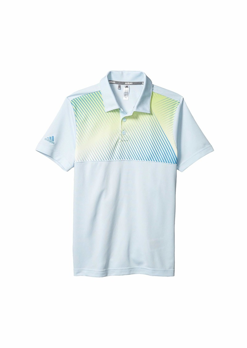 Adidas Gradient Stripe Polo Shirt (Little Kids/Big Kids)