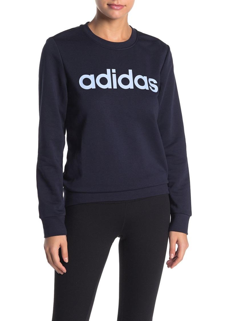 Adidas Graphic Crew Neck Sweatshirt