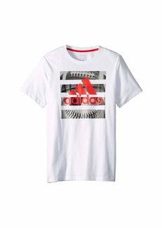 Adidas Graphic Hacked Sport Tee (Big Kids)