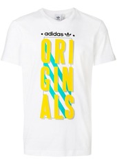 Adidas graphic slogan print T-shirt