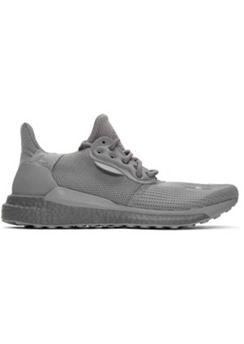 Adidas Grey Solar Hu PRD Sneakers