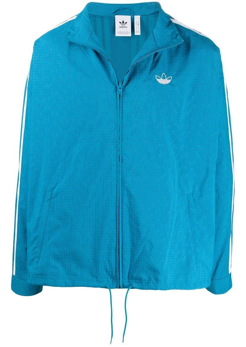 Adidas Grid Wind logo jacket