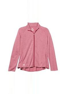 Adidas Heathered Knit Jacket (Little Kids/Big Kids)