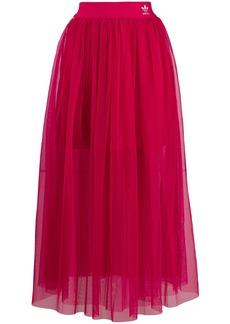 Adidas high waisted tulle skirt