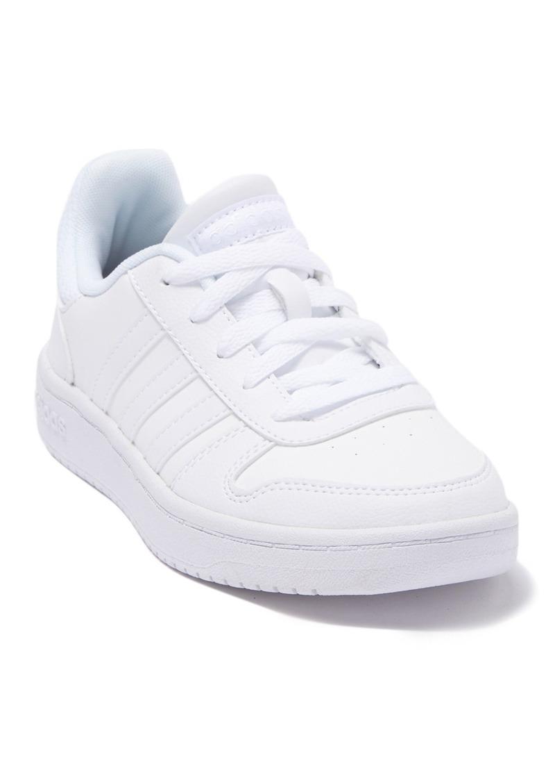 Adidas Hoops 2.0 Sneaker (Baby, Toddler, Little Kid, & Big Kid)