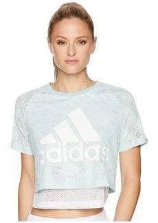 Adidas ID Mesh Crop Top