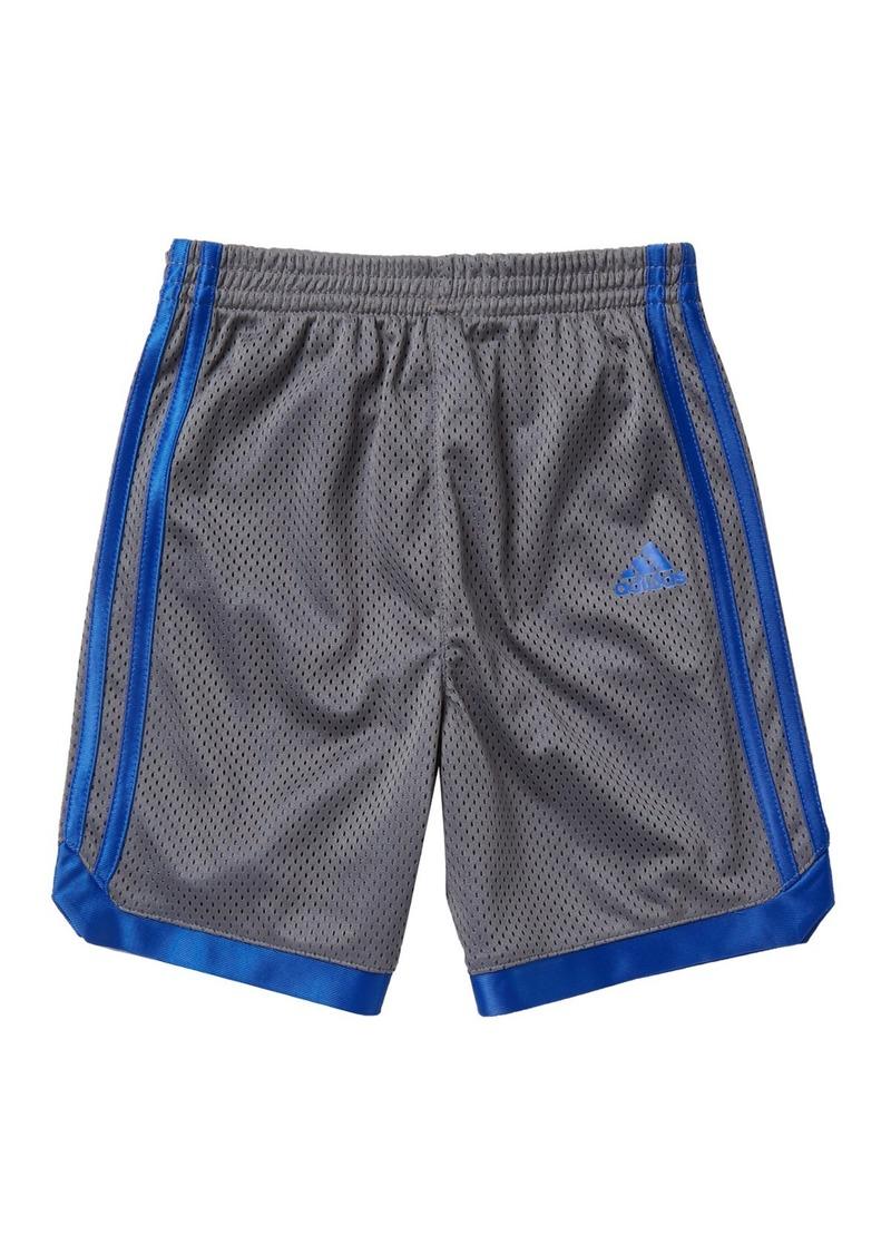 Adidas Impact Mesh Shorts (Toddler & Little Boys)