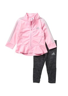 Adidas Jacket & Tights 2-Piece Set (Baby Girls)