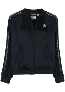 Adidas lace detail track jacket