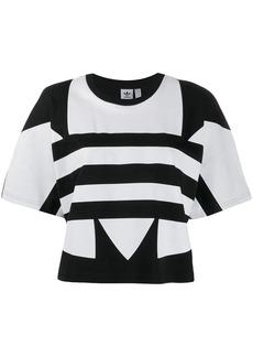 Adidas large logo short-sleeve T-shirt
