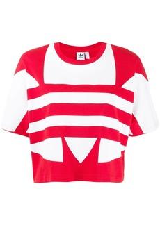 Adidas large logo short-sleeve top