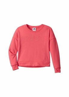 Adidas Linear Crew Neck Sweatshirt (Big Kids)