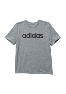 Adidas Linear Logo Tee (Big Boys)