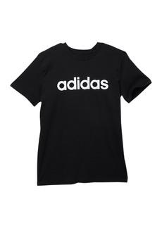 Adidas Linear Logo Tee (Big Boys)