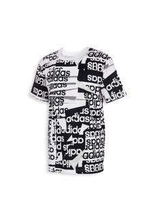 Adidas Little Boy's & Boy's Core Linear T-Shirt