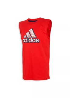 Adidas Little Boy's & Boy's Logo Tank Top