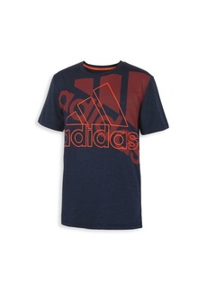 Adidas Little Boy's & Boy's Statement Logo T-Shirt