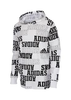 Adidas Little Boys Long Sleeve Collegiate Hooded Sweatshirt