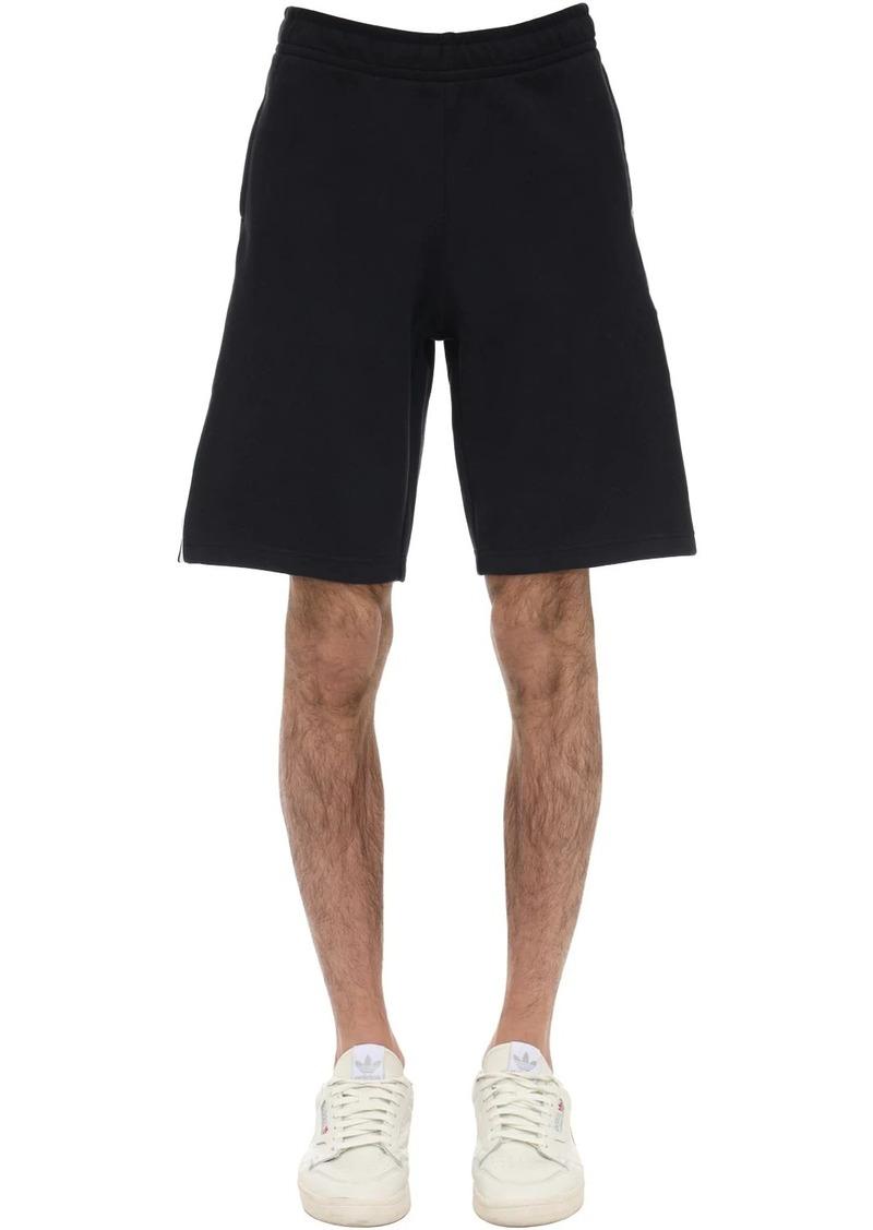 Adidas Lock Up Cotton Blend Sweat Shorts