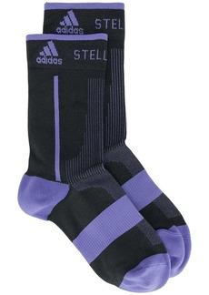Adidas logo colour-block socks