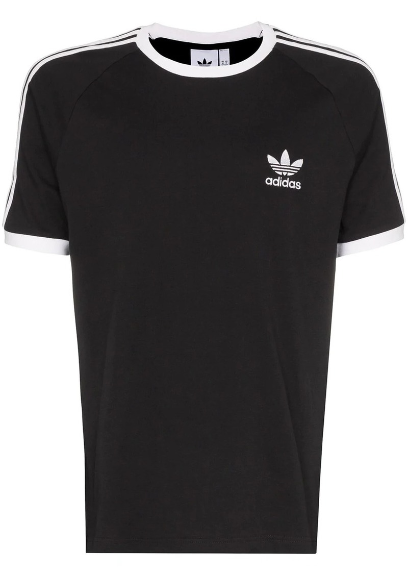 Adidas logo-embroidered short-sleeve T-shirt
