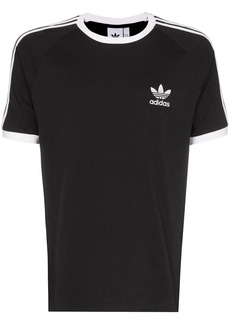 Adidas logo-embroidered short-sleeve T-shirt