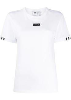 Adidas logo embroidered T-shirt