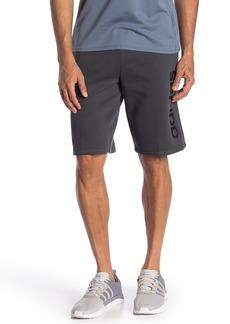 Adidas Logo Fleece Lined Shorts