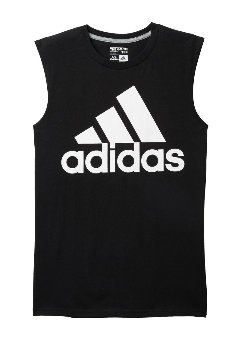 Adidas Logo Graphic Tank Top (Toddler, Little Boys, & Big Boys)