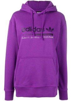 Adidas logo hooded sweatshirt