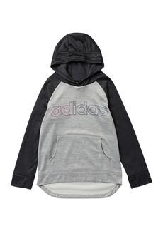 Adidas Logo Hoodie (Big Girls)
