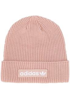 Adidas logo patch beanie