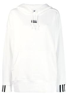 Adidas logo patch hoodie