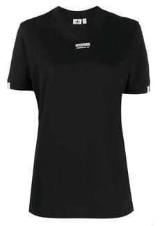 Adidas logo patch short sleeve T-shirt