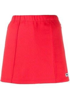 Adidas logo plaque mini skirt