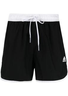 Adidas logo-print drawstring shorts
