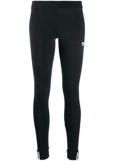Adidas logo print performance leggings
